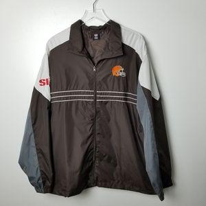Cleveland Browns Lightweight Zip Up Jacket 2XL